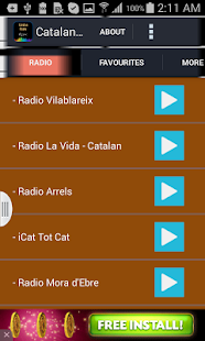 Catalan Music Radio - screenshot