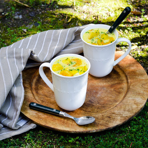 Saffron and Seafood Chowder
