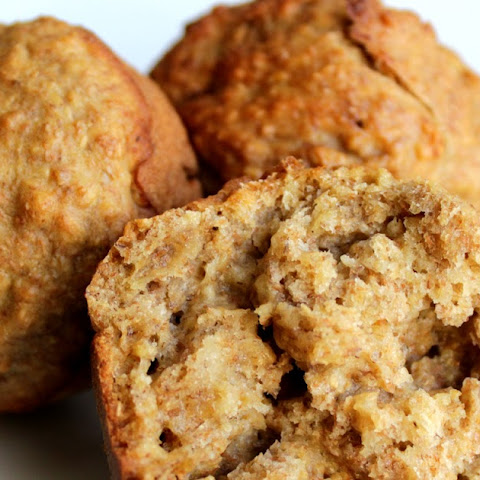 Whole Wheat, Oat And Banana Muffins (and An Award)