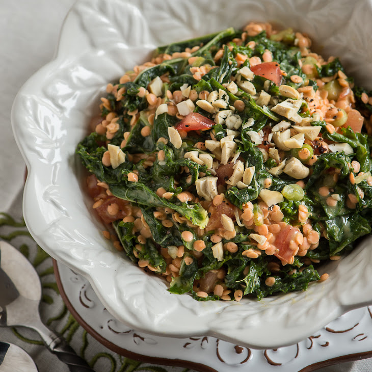 Red Lentils And Kale With Miso Recipes — Dishmaps