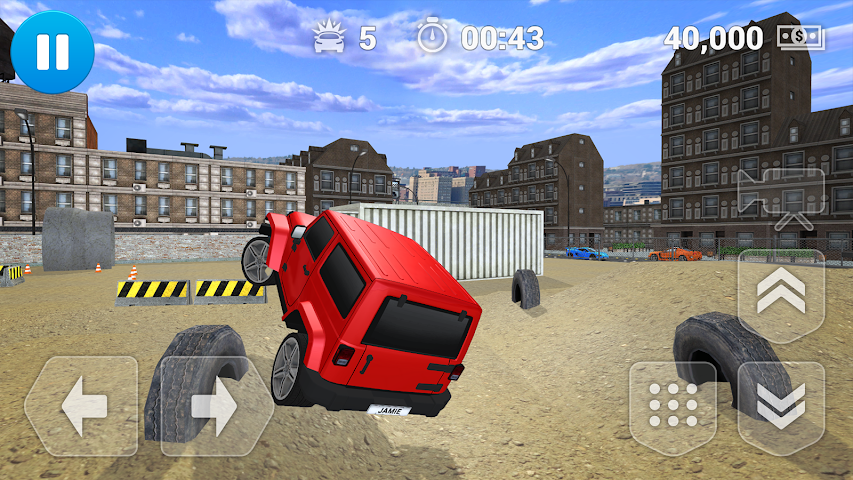 android PARKING JEU SUV Screenshot 4