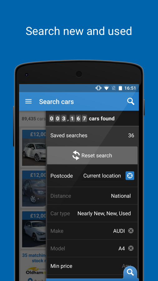 Auto Trader - New & used cars Screenshot 0