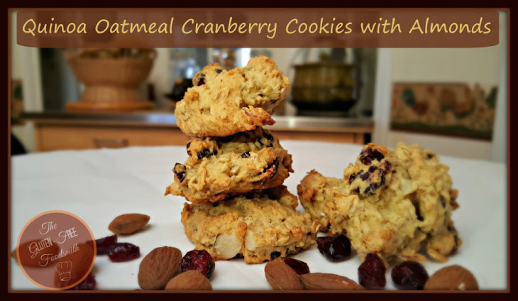 Cranberry-Pistachio Oatmeal-Quinoa Cookies Recipes — Dishmaps