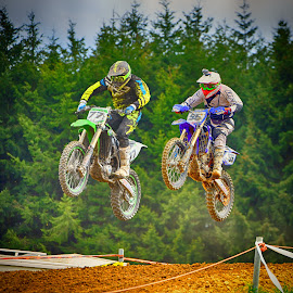 by Marco Bertamé - Sports & Fitness Motorsports ( motocross, competiton, air, race, duel, jump,  )