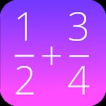 Fractions Math Pro Icon