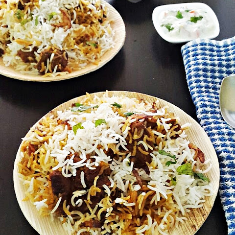 Mutton biryani recipe - Gosht biryani