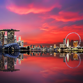 Icons of Singapore by Jerome Tan - Landscapes Waterscapes