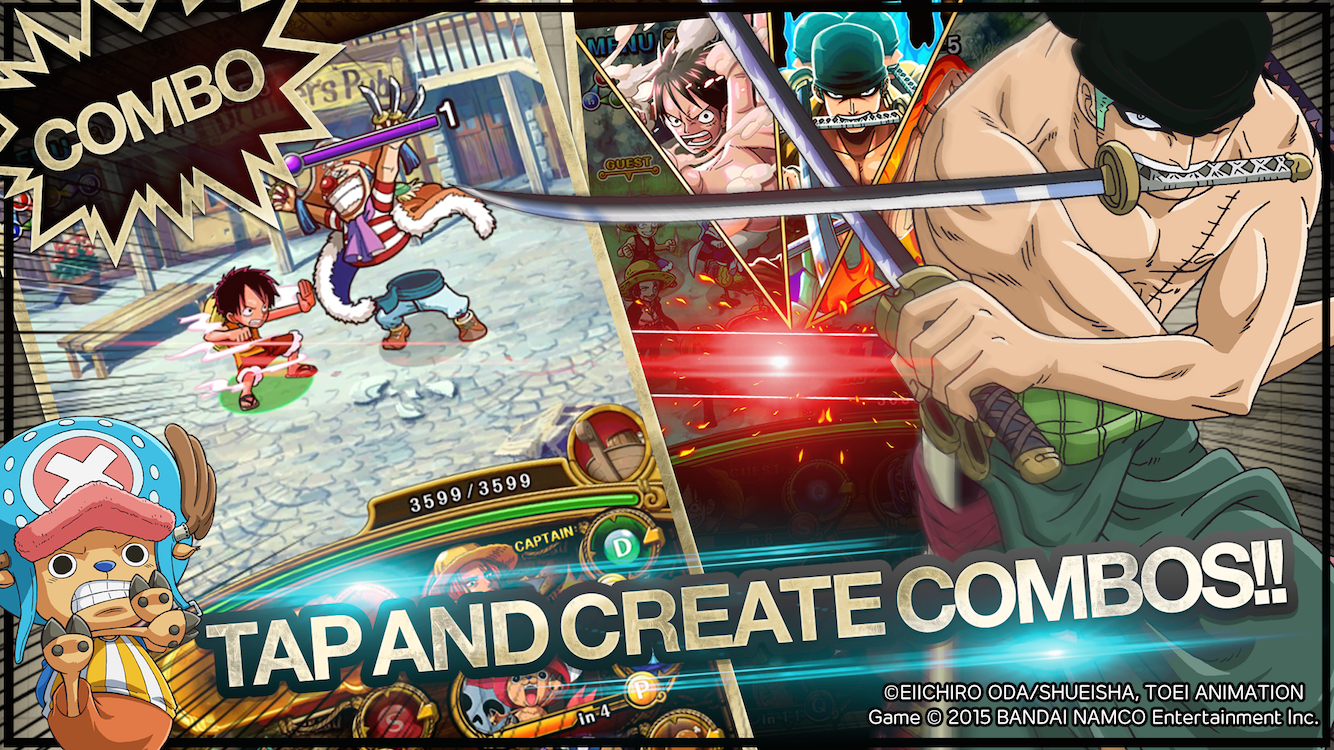 LINE: ONE PIECE TreasureCruise Screenshot 1