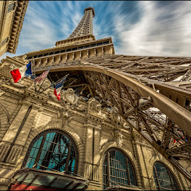 The Mini Tower by Jeffrey Bucovetsky - Buildings & Architecture Office Buildings & Hotels ( eiffel tower, paris, tower, perspective, hotel )