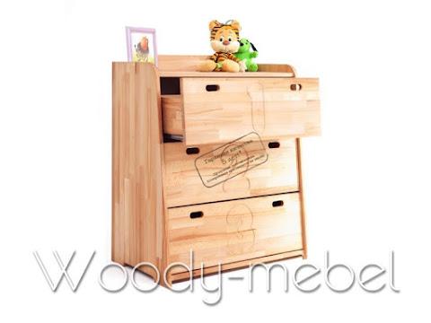 Детская мебель: комод буковка