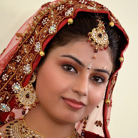 Indian Bride by KP Singh - People Portraits of Women ( wedding, indian, marriage, bride, ludhiana )