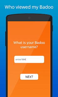 App Who Viewed my Badoo -Simulator apk for kindle fire