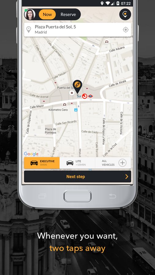 Cabify - Your private driver Screenshot 1