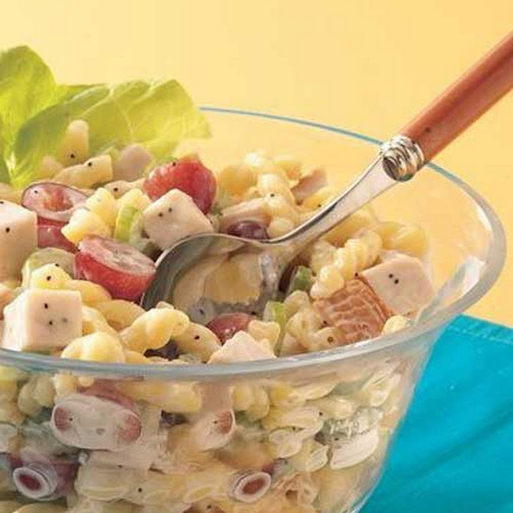 Chicken Pasta Salad with Poppy Seed Dressing Recipe | Yummly