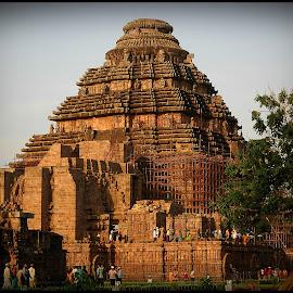 Konark Sun Temple by Prasanta Das - Buildings & Architecture Places of Worship ( sun temple, monument, heritage, world )