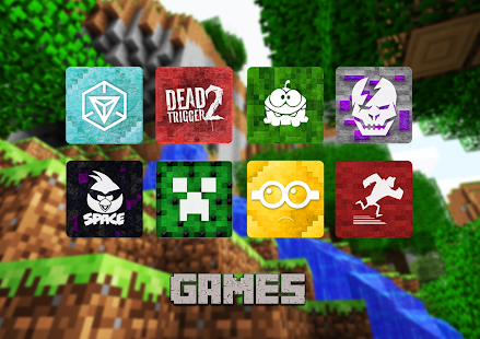 Icon Craft - Blocky Icon Pack - screenshot