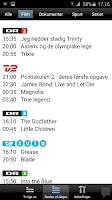 Screenshot of Dansk TV-Oversigt