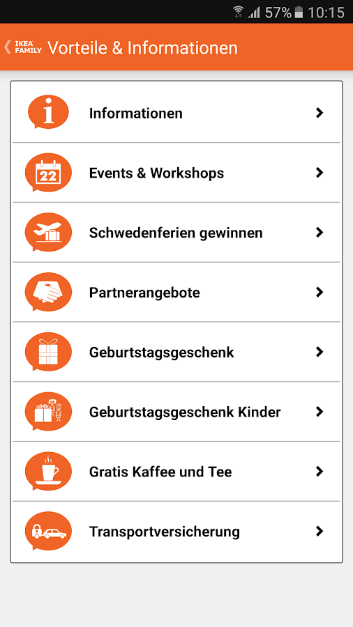 IKEA FAMILY Schweiz Screenshot 3