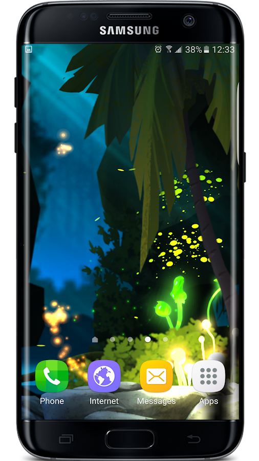 Firefly Jungle II LWP Screenshot 1