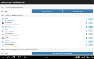 Screenshot of Smart Battery Saver
