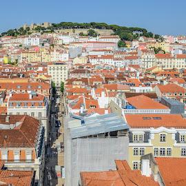 Lisbon, Portugal by Marcin Frąckiewicz - City,  Street & Park  Vistas ( lisbon, city, lisboa, portugal, houses )