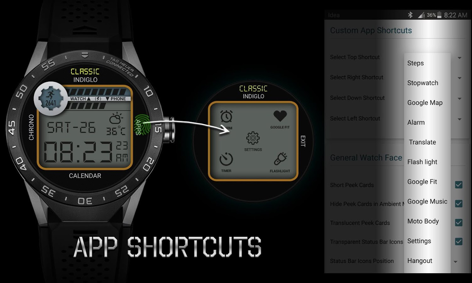 Retro Interactive Watch Face Screenshot 4