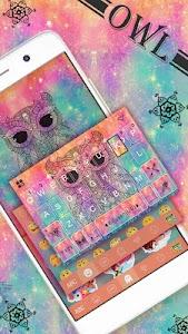 Owl Kika Emoji Keyboard Theme APK