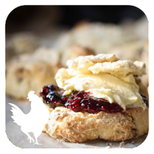 Scones and Jam – Orchard Fruits