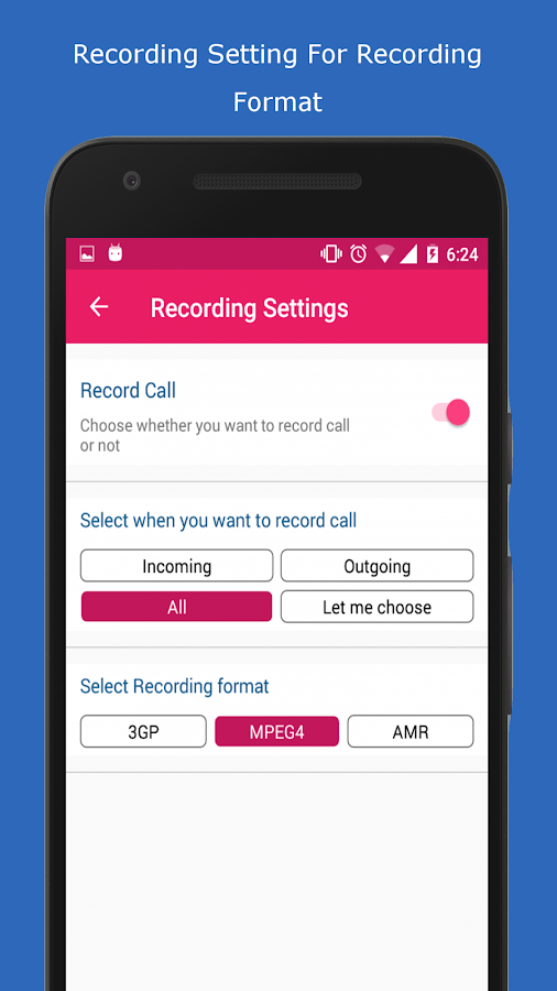 Call Recorder Pro - Record, Hide, Upload Screenshot 2