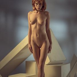 Beauty as air by Dmitry Laudin - Nudes & Boudoir Artistic Nude ( studio, beauty, light, nude, girl, body, posing )
