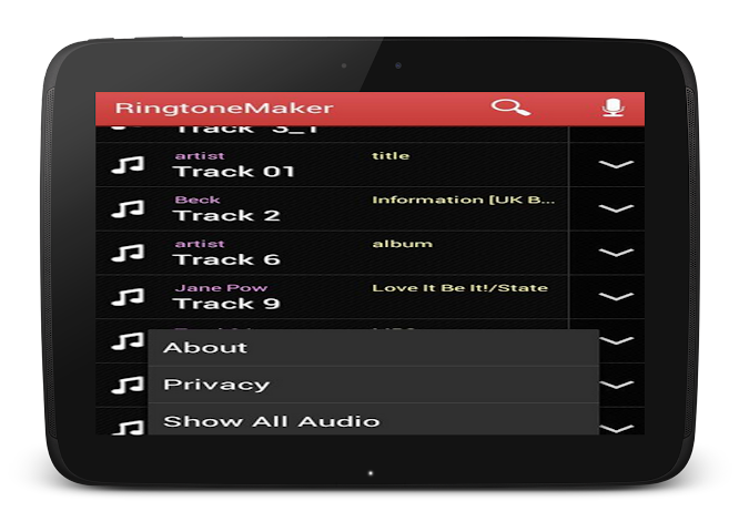 android Mp3 Cutter and Ringtone Maker Screenshot 9