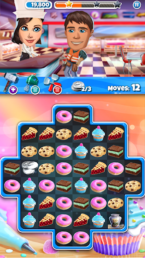 Crazy Kitchen: Match 3 Puzzles screenshot 6