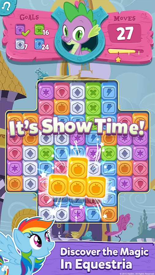 My Little Pony: Puzzle Party Screenshot 7