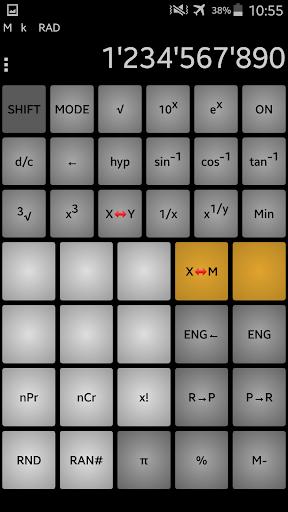 Calculator andanCalc PRO+ - screenshot