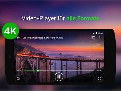 Videoplayer Für Alle Formate - XPlayer Screenshot