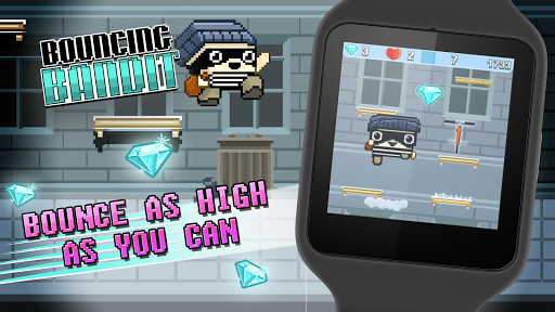 Bouncing Bandit - screenshot
