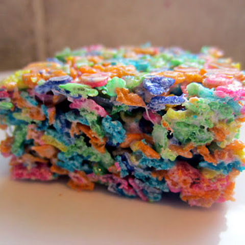 Gluten Free Fruity Pebble Treats