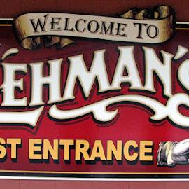 Lehman's Hardware, Kidron, Ohio by Christine B. - Artistic Objects Signs ( sign, lehman's, hardware, ohio, kidron )