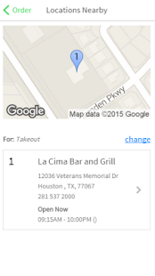 La Cima Bar and Grill - screenshot