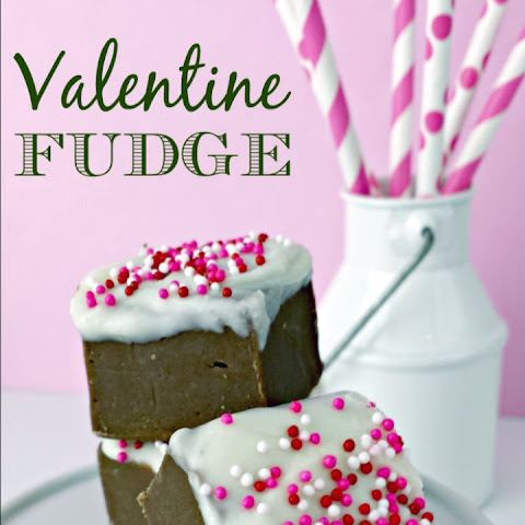 Valentine's Day Fudge