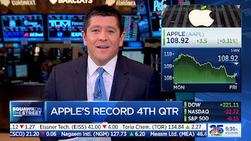Screenshot of CNBC