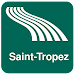 Saint-Tropez Map offline Icon