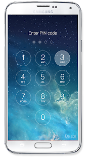 OS8 Lock Screen Screenshot