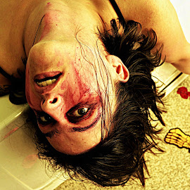 by Agata Zak - People Body Art/Tattoos ( scary, body, person, spooky, body art, movie )