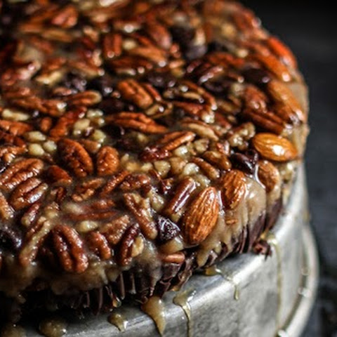 No-Bake Turtle Upside Down Cake