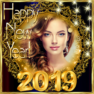 2019 New Year Photo Frames Greeting Wishes For PC / Windows 7/8/10 / Mac – Free Download