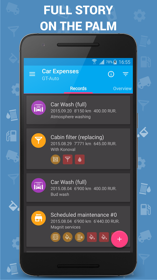 Car Expenses Pro (Manager) Screenshot 1
