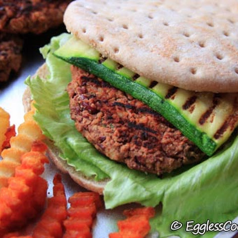 Vegan Kidney Bean Burgers