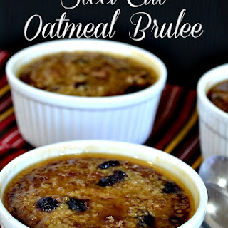 Steel-Cut Oatmeal Brulee