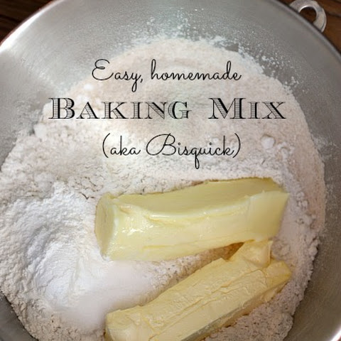 Homemade Bisquick Recipe, Baking Mix